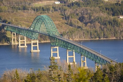 Seal Island Bridge, Cape Breton.