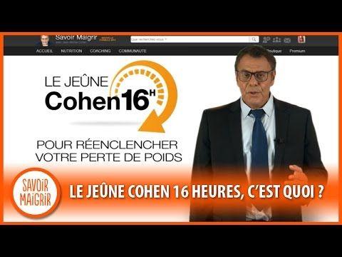 Le Jeûne Cohen de 16 heures (jeûne intermittent)…