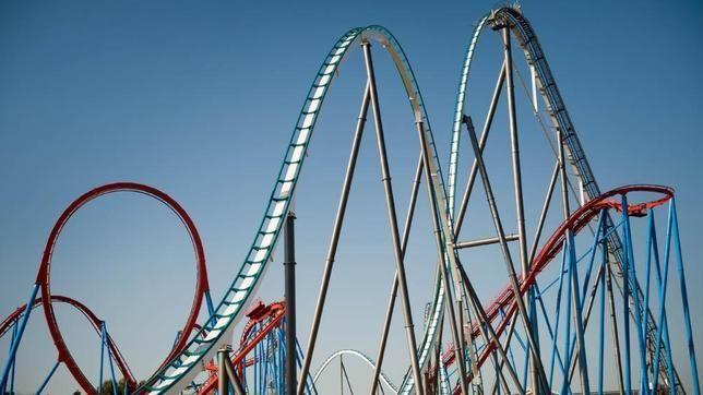 #Shambhala at #PortAventura, highest coaster in Europe at 76 metres