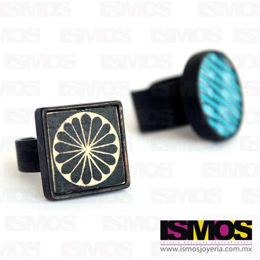 ISMOS Joyería: anillos con texturas // ISMOS Jewelry: rings with textures