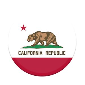 California flag POP SOCKET! $8 I really want this, It's so cool!