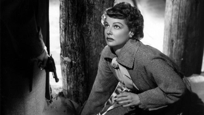 Ann Sheridan has a bad feeling about this... Image: movie-trailer.co.uk