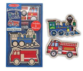 Decorate your Own Vehicle Magnets
