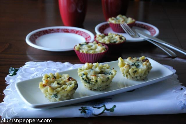 Quick, simple and Skinny Mac and cheese cup cakes..So Delicious!!