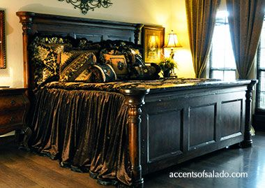Decorating Your Bedroom of Master Bedroom with Tuscan Style | Home ...