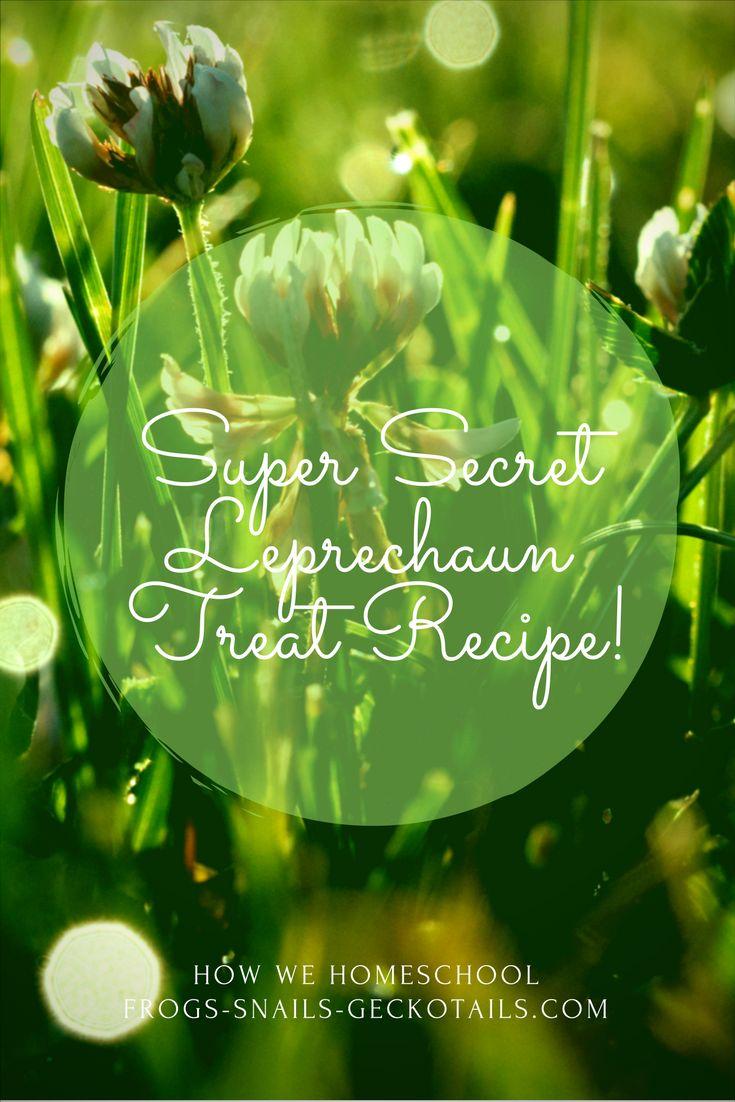 Leprechaun Treats and Leprechaun Traps for our Saint Patrick's Day Celebration – Frogs-Snails-Geckotails