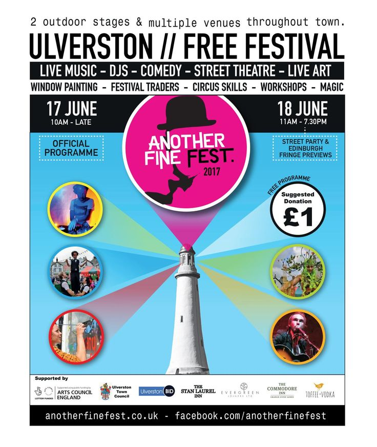 Another Fine Fest 2017 - June 16-18th - Ulverston