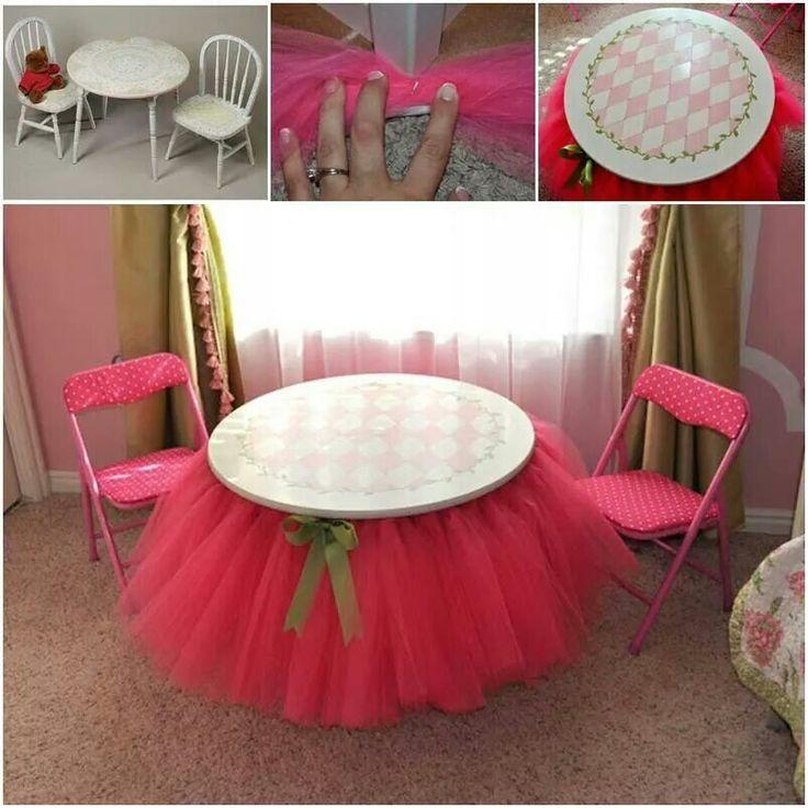 Mesa decorada con tul y lazo deco evento pinterest - Mesas de boda decoradas ...
