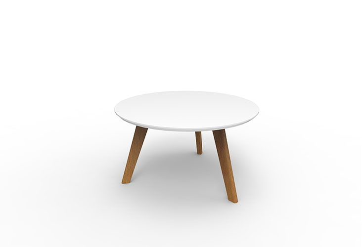 SKU29.1 - OSLO Relax Coffee Table Round - White Top