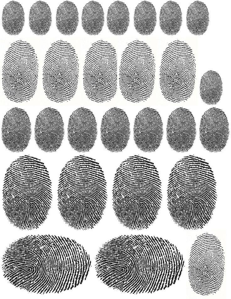 Fingerprints Printable