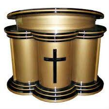 Gold pulpit