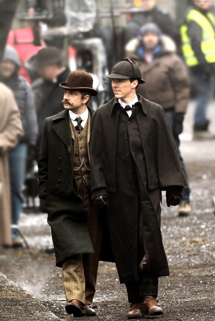 Doctor Watson & Mr. Holmes #setlock BBC Sherlock Christmas special will be set in the Victorian era!!