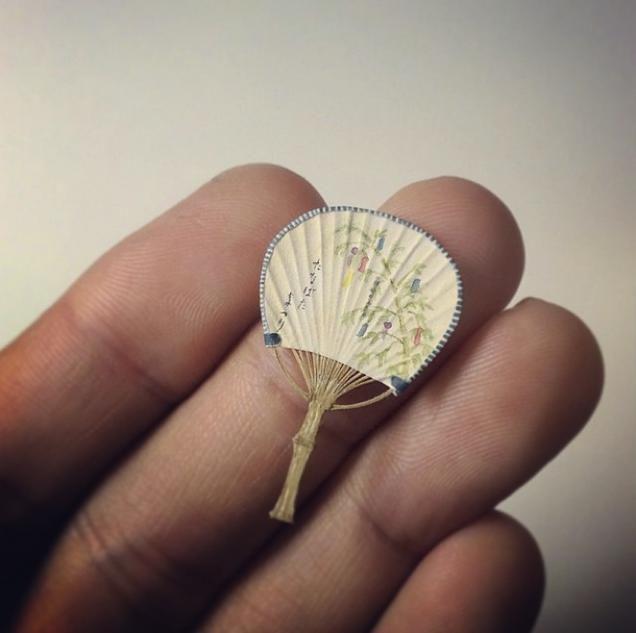 Japanese Miniature Art Dazzles All