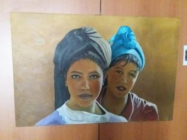 بالصور افتتاح معرض الفن التشكيلي الفن خلق وإبداع بالمركب الثقافي عبد الله كنون بالدار البيضاء Portrait Tattoo Art Portrait