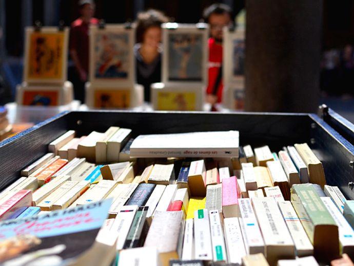 Livres à la Vieille Bourse de Lille