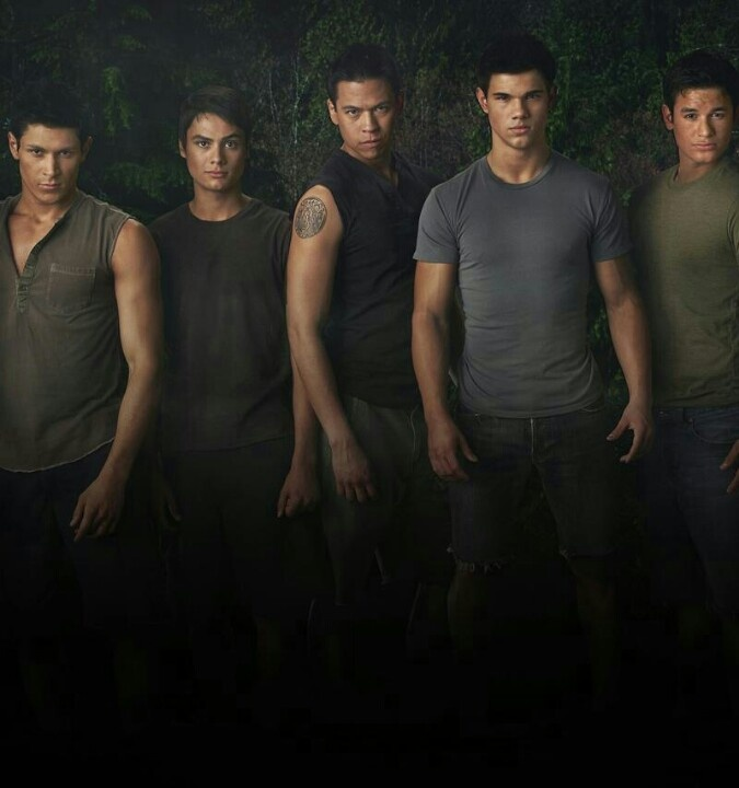 Wolf pack from twilight