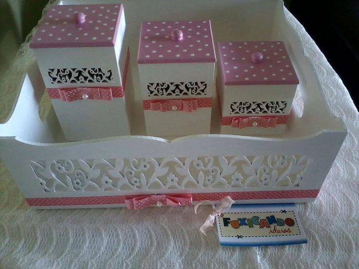 Kit Higiene - poa rosa