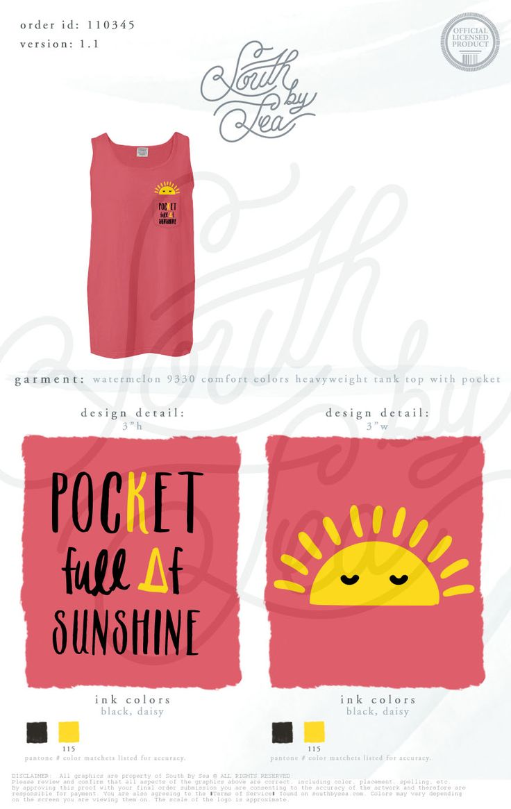 Kappa Delta | KD | Pocket Full of Sunshine | Sisterhood | Bid Day | Recruitment | South by Sea | Greek Tee Shirts | Greek Tank Tops | Custom Apparel Design | Custom Greek Apparel | Sorority Tee Shirts | Sorority Tanks | Sorority Shirt Designs