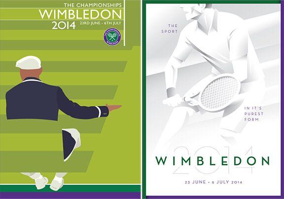 Maria Ngelica Delfino´s Wimbledon Poster 2014! (left)