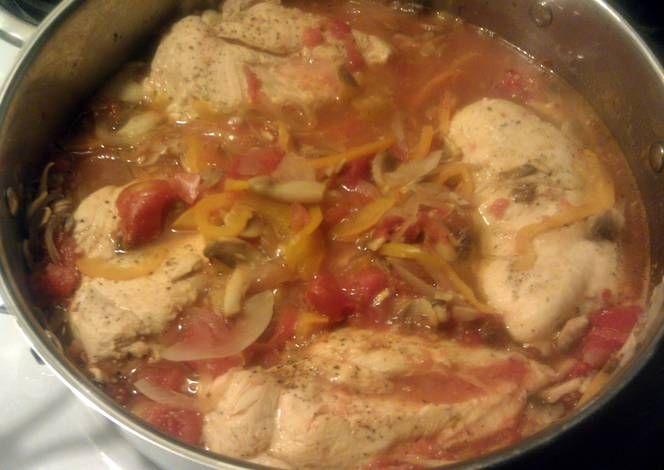 Chicken Cacciatore Recipe -  Are you ready to cook? Let's try to make Chicken Cacciatore in your home!