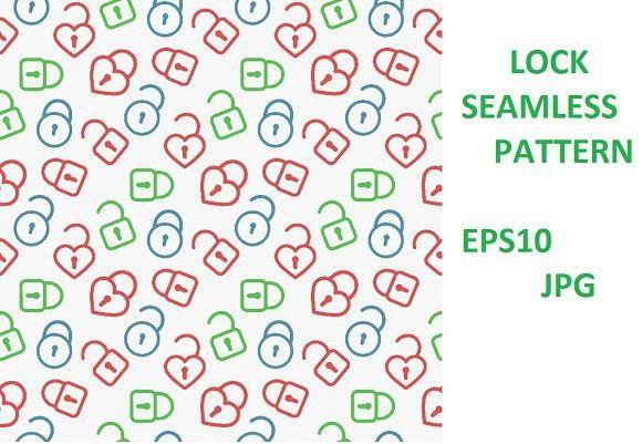 Lock Pattern Background Background Patterns Pattern Seamless