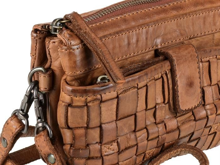Bear Design - COW LAVATO - Leder Handtasche