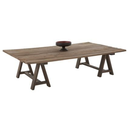 Tribal Coffee Table, Recycled Elm Wood