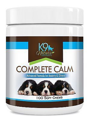 Dog Calming Treats Complete Calm Supplement for Reducing Stress & Separat... NEW