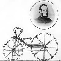 Kirkpatrick Macmillan, the Scottish blacksmith who invented the pedal bicycle