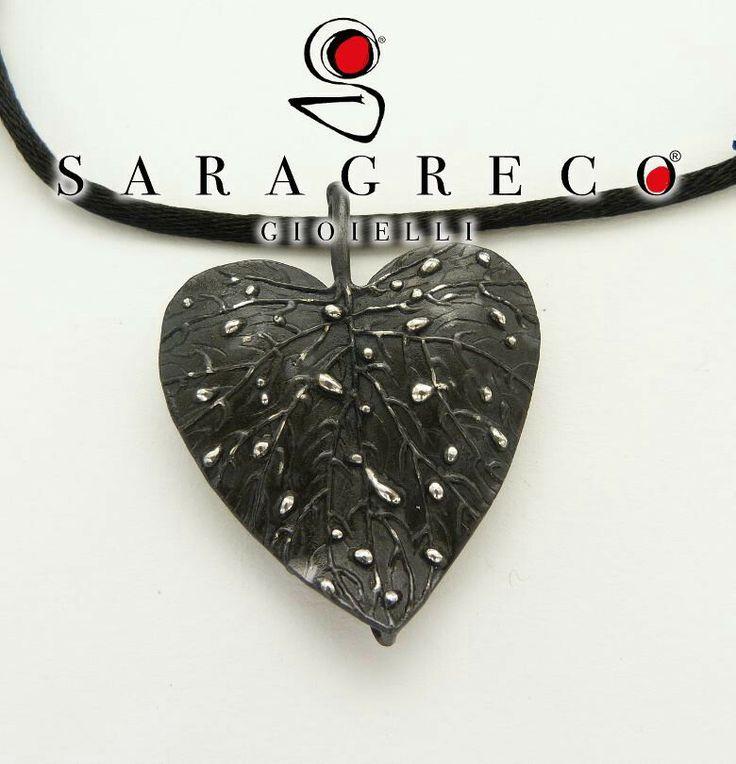 """Arte sensibile, perfezione irregolare Collezione """"Argentovivo☆Rugiada"""" #argento925 #handmade #sgg #saragrecogioielli   ♡www.saragrecogioielli.com♥"""