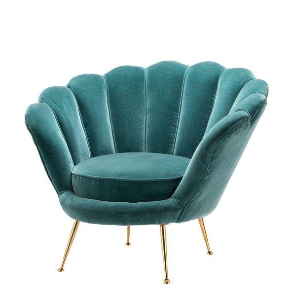 Fauteuil+en+velours+couleur+turquoise+24-Shell