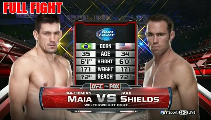 Demian Maia VS Jake Shields - Welterweight Bout - UFC on Fox