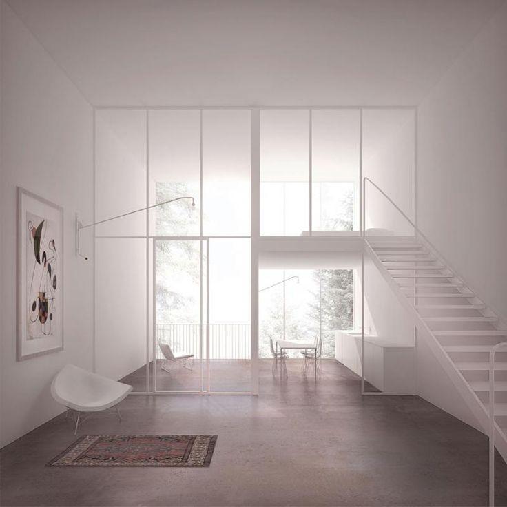 Die besten 25+ Rendering Architektur Ideen auf Pinterest - ideen fur wohnzimmer 3d renderings