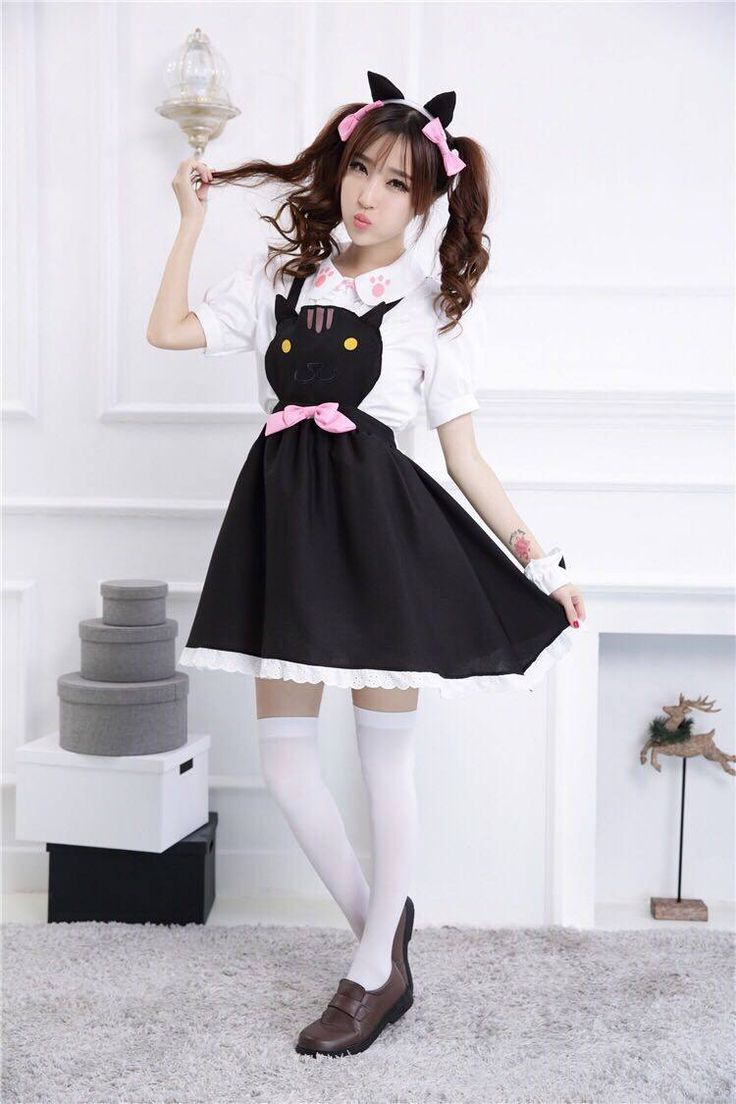 Neko atsume maid dress sd00774 cosplay dress maid