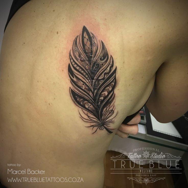 """Scar Cover"" piece by Marcel Backer of True Blue Professional Tattoo Studio"