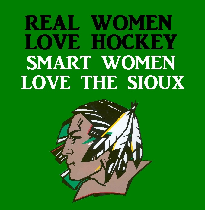 love the fighting sioux! @Kelsey Friedt thought of you!      HELL YES! Fighting Sioux Forever <3