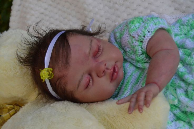 ADORABLE BABY MARELIZE - FAIRY REBORN BABIES - NORRY OTTE