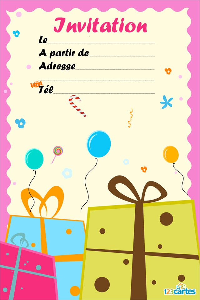 Top 53 best carte d'invitation images on Pinterest | Invitation, DIY  WG45