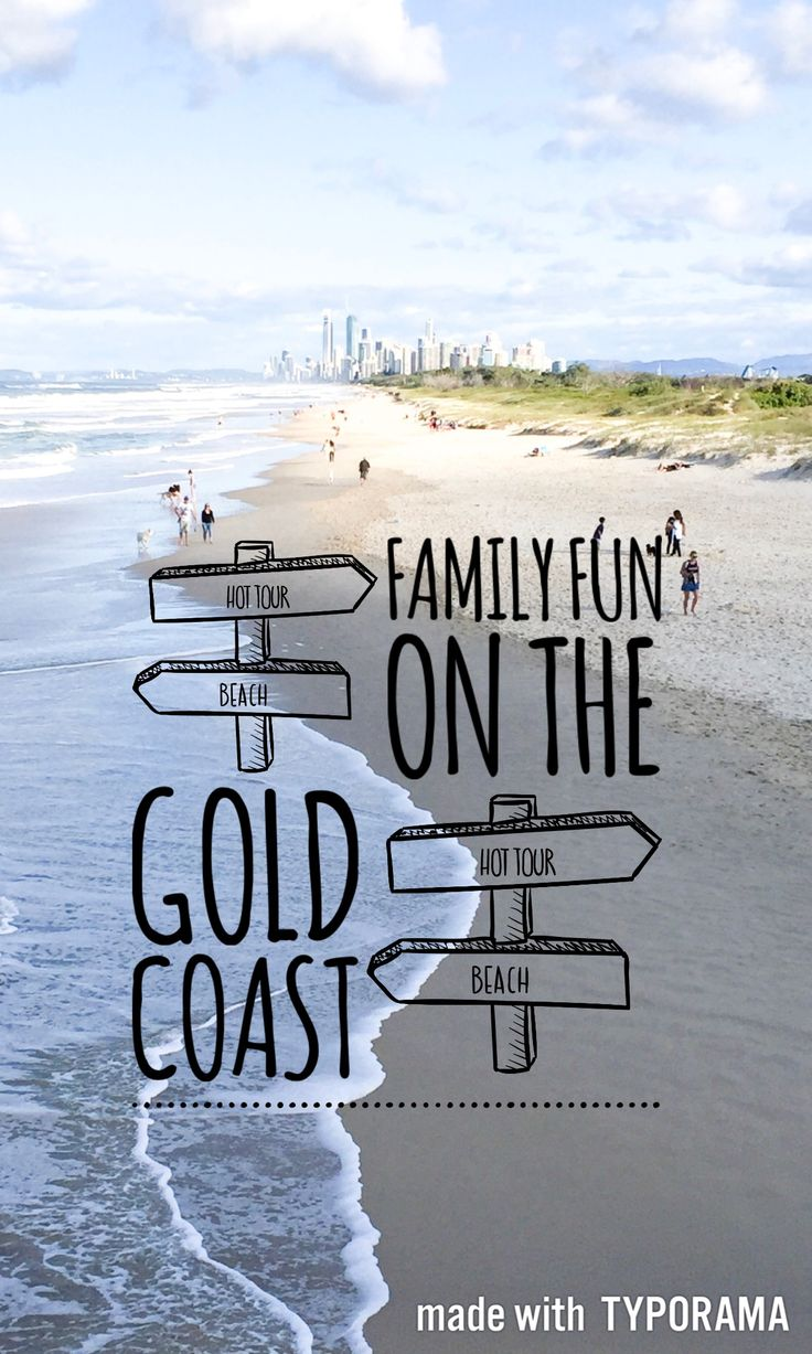 Find out what family fun you can have on the Gold Coast