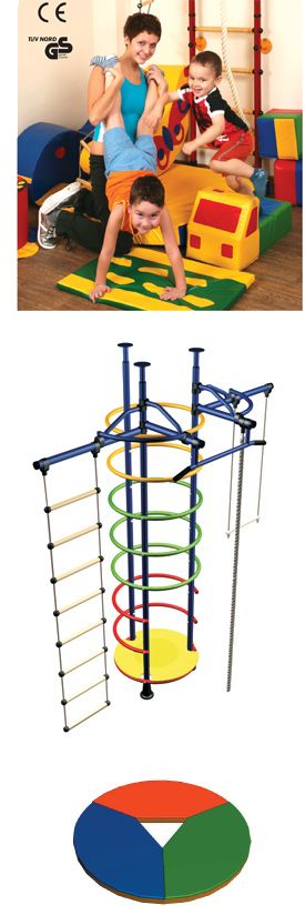Indoor jungle gym equipment for kids