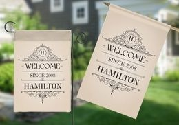 Groupon - Personalized House or Garden Flags from Monogram Online (Up to 80% Off). Groupon deal price: $5
