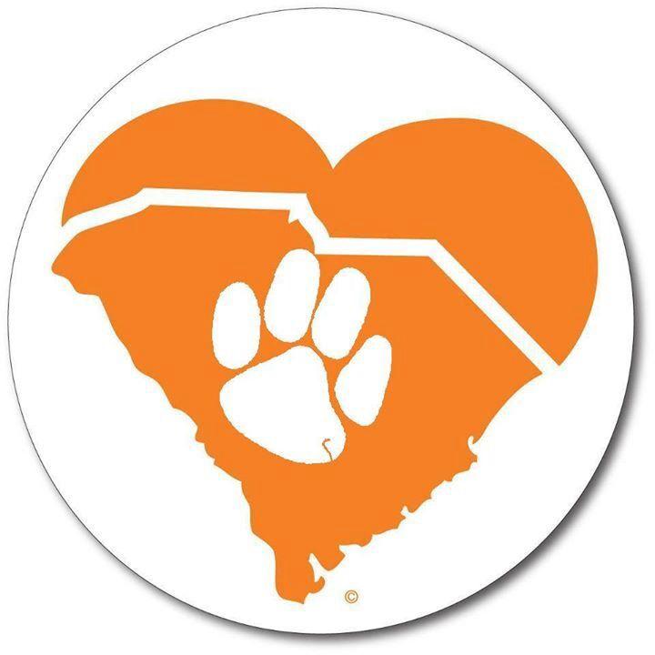 Happy Valentine's Day! Pic credit: Clemson Die Hards