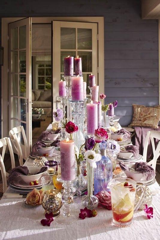 tablescape | Vintage Rose Garden