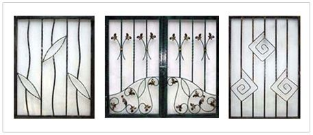 Aluminium and Wrought Iron Grilles Which Is Better?