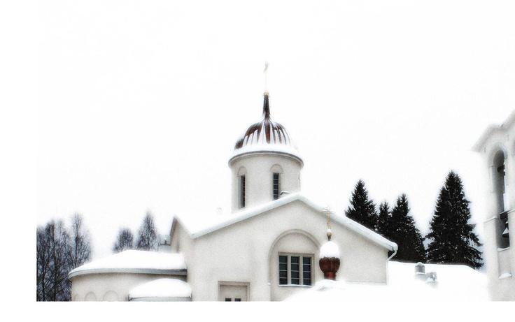Valamon luostari, helmikuu 2013