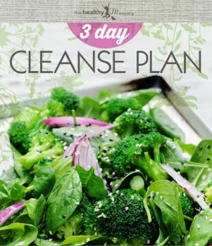 3 Day Cleanse Plan ebook | The Healthy Mummy
