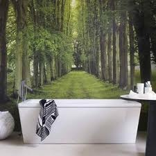 forest wall mural - Google Search