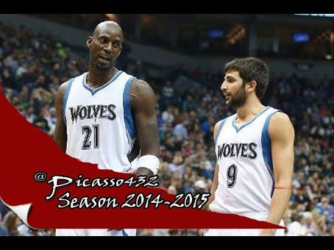 Rubio and Wiggins Hosting   Kevin Garnnet   Full Highlights vs Wizards  ...