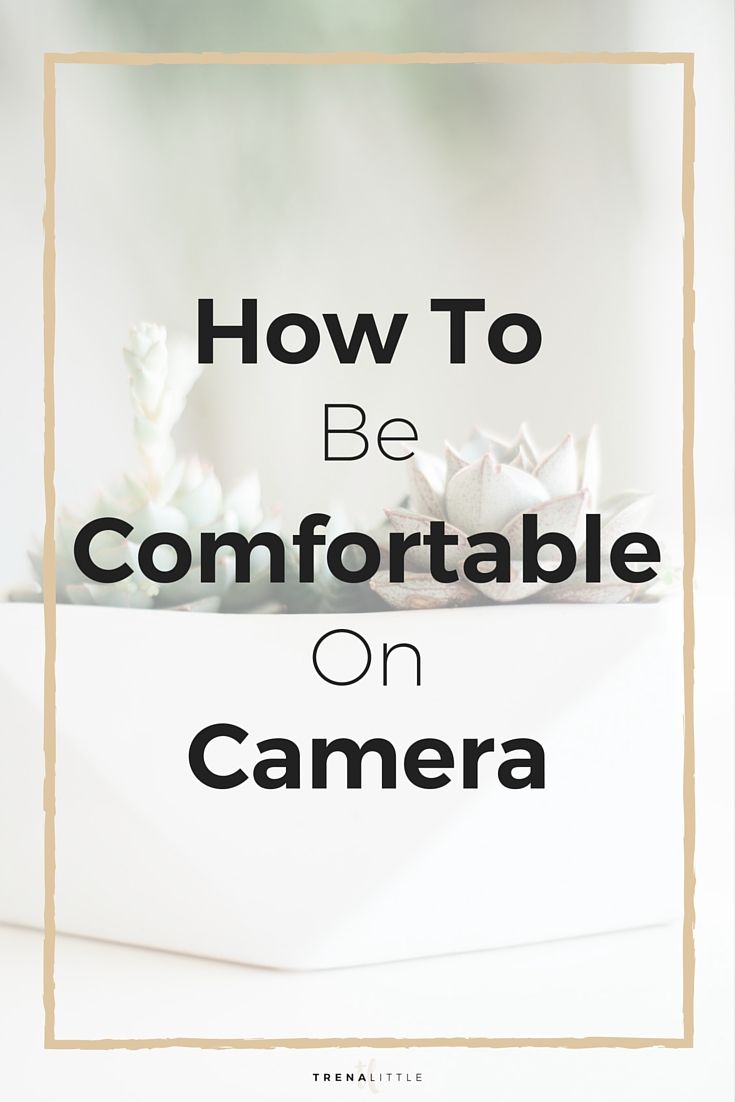 How To Befortable On Camera First Youtube Video