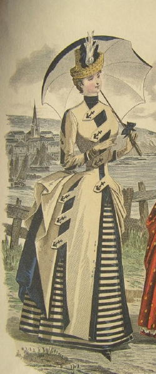 1885 Nautical Suit....absolutely fabulous!